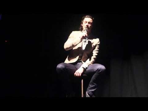 Luke Evans singing x http://youtu.be/k92rENRqcts