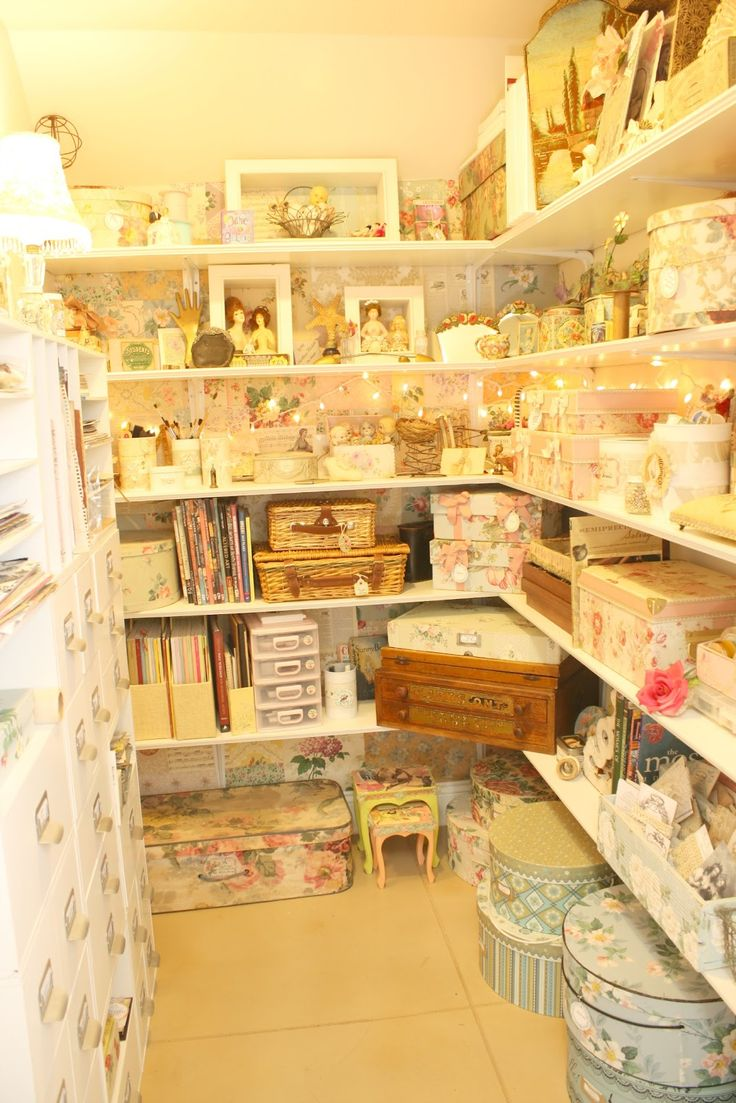 French LaundryCrafts Sewing Room, Art Crafts, Creative Spaces, Shabby Chic, Crafts Room, Laundry Closet, Crafts Storage, French Laundry, Craft Storage