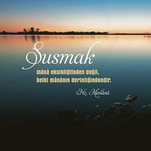 #susmak #mana #anlam #konu #derin #söz #hzmevlana #mevlana #mevlanacelaleddinrumi #mevlanahz #sözler #türkiye #istanbul #rize #eyüp #ilmisuffa