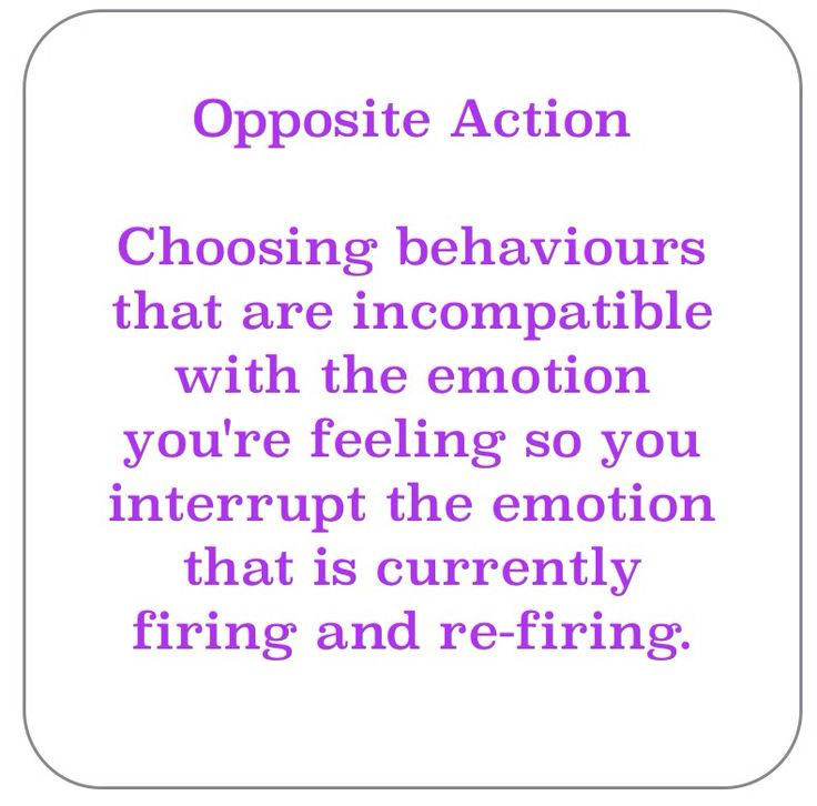 Opposite Action