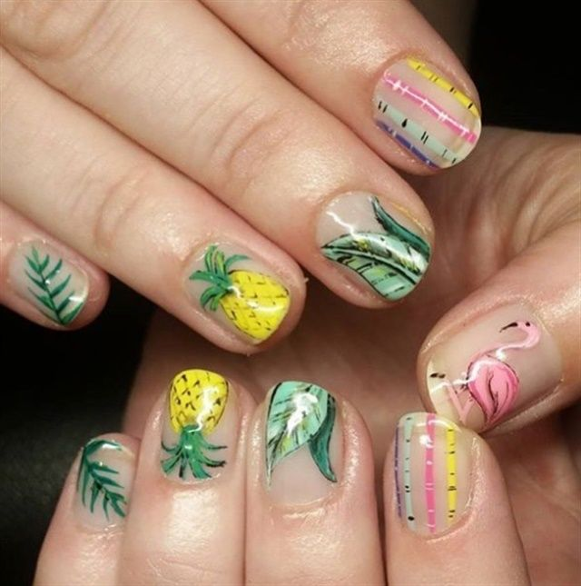 29 Innovative Nail Art Designs by Stash House Az - 130 Best Tropical Nail Art Images On Pinterest Tropical Nail Art