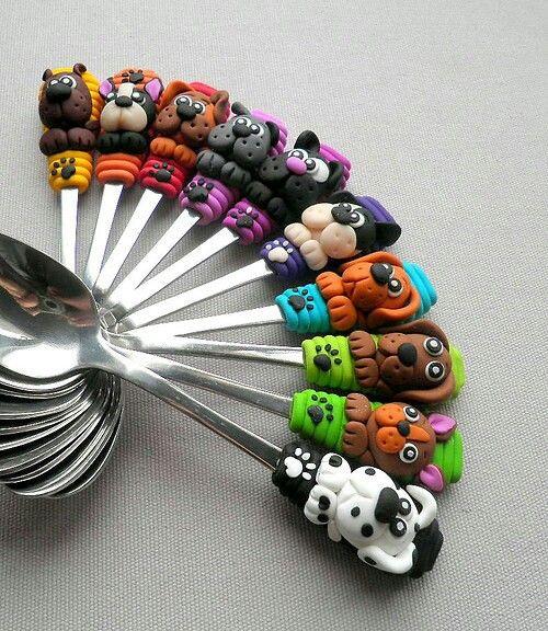 Fimo spoons