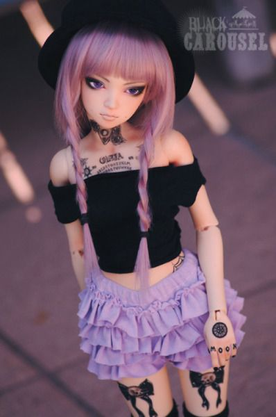 kawaiiordiebitch:  Pastel Lace Frilly Shorts - 3 COLORS - BJD ¼ 1/3 SD13 MSD Boy Girl Pastel Goth
