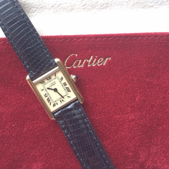 Cartier watch Beautiful,classic, timeless, vintage cartier watch, I just had it serviced by cartier, I have all the paper work! Cartier Accessories Watches