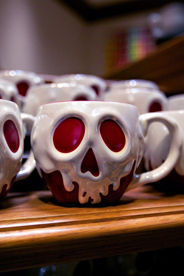 http://www.ohanablog.com/ Disneyland // Snow White // Poison Apple Coffee mug