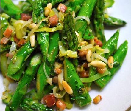 Absurdly Addictive Asparagus, Photo Credit and Recipe: Sarah Shatz, food52.com