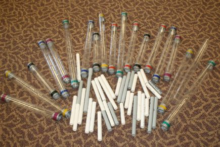 Homemade Musical Instruments!  (similar to Boomwhackers) http://smith.oakwood.k12.oh.us/~thompson_nate/Thompson/Musical_Pipes.html