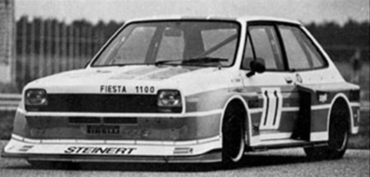 Mk1 Ford Fiesta 1100 competition
