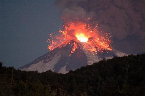 volcán Llaima, 2008