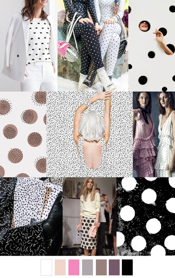 S/S 2017 colors & patterns trends: CONNECT THE DOTS