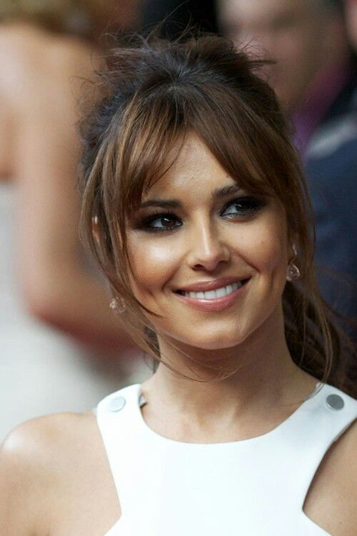 Cheryl cole curtain fringe