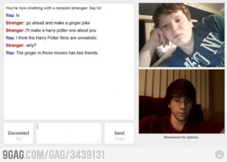 Trolling with Ginger on Omegle