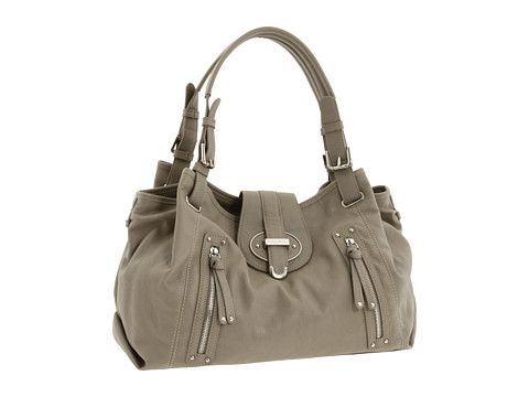 Nine West Zipster Medium Satchel. I bought this one, it's got decent hammer space.