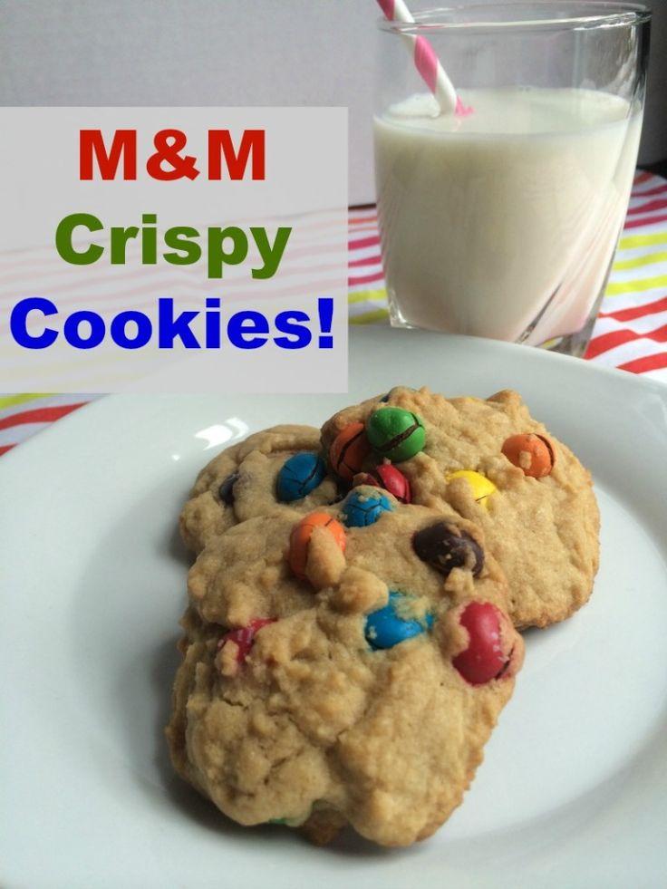 M&M Crispy Cookies #CrispyComeback #CollectiveBias #ad