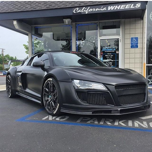 Stealth R8 By @caliwheels Whats do you guys think of this build? @caliwheels