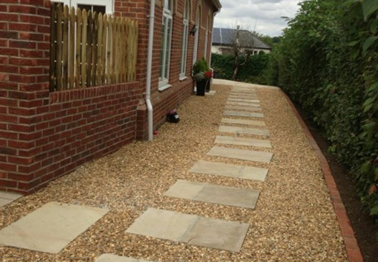 patio and stone