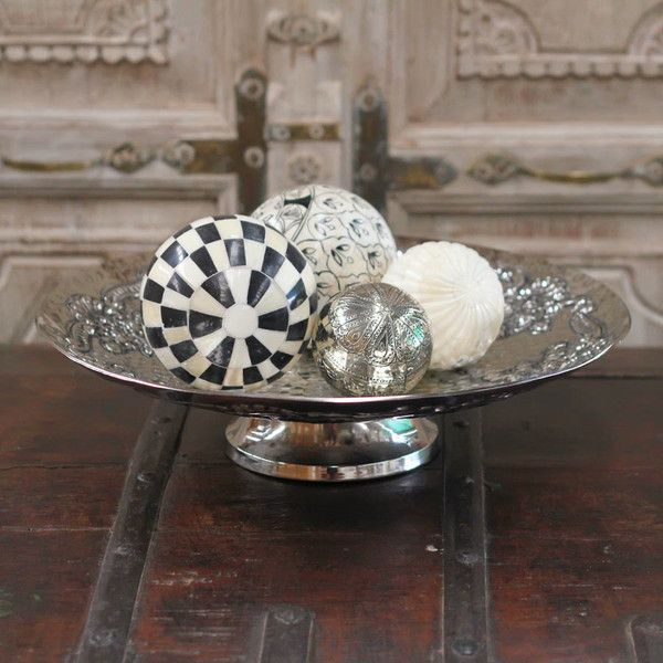 Metal Serving Dish -2 Sizes