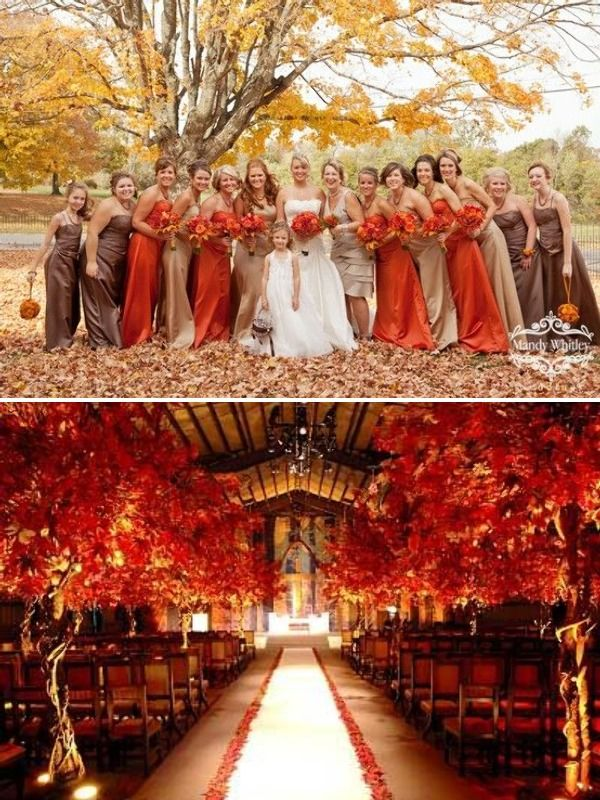 Fall Wedding Inspiration-love the colors! More on fall colors http://www.knotsvilla.com/fall-wedding-colors-inspiration