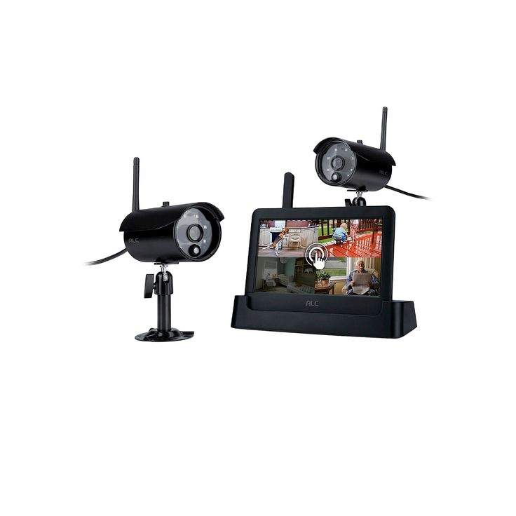 Alc AWS3266 Connected Touch Screen Wireless Surveillance System - Black