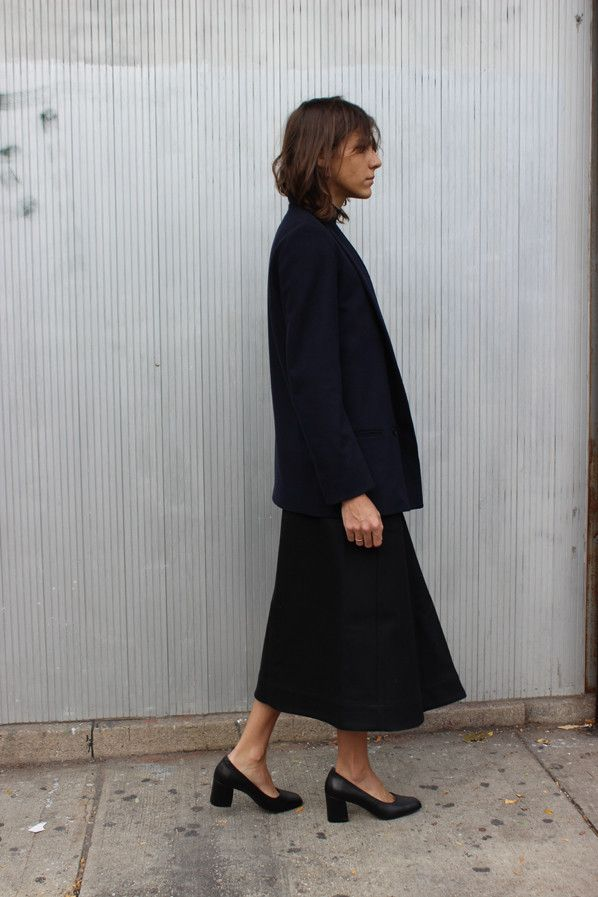 proportions + stacked heels| @andwhatelse