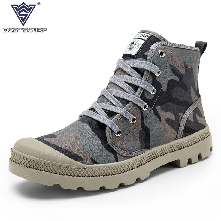 ==> [Free Shipping] Buy Best New Arrival Unisex Fashion Canvas Shoes for Men Casual Canvas Boots Brand Camouflage Fashion Boots for Men Botas Zapatos 36-45 Online with LOWEST Price | 32759996231
