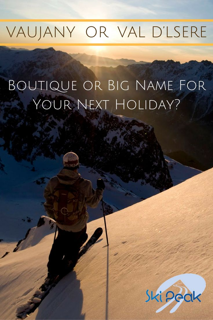 Every winter thousands of Brits pack their boots and head in masses to the French Alps for a week of skiing in the fresh mountain air. The French Alps are incredible no matter where you ski, but just like people, each resort has its own personality. Vaujany and Val d'Isere show how vastly two resorts can differ - but which one is better?