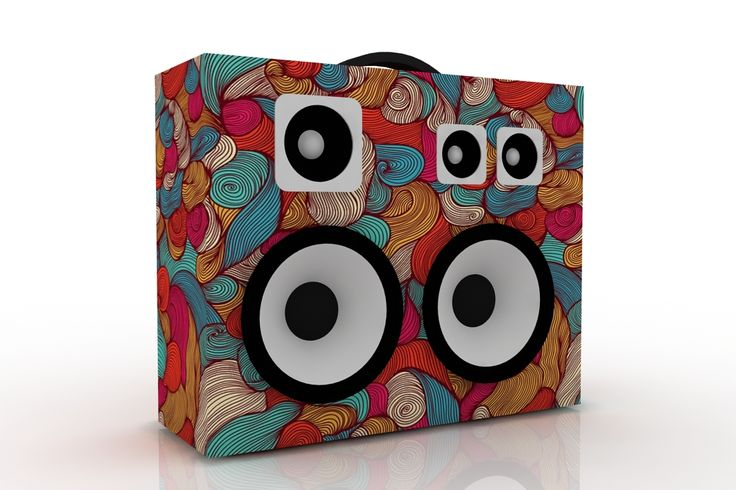 #boombox #boomcase #render #houd #print #art #speakers