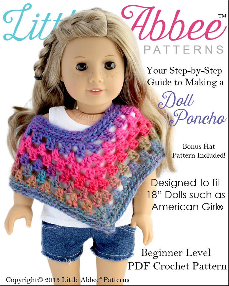 The 35 Best American Girl Doll Clothes Crochet Patterns Images On