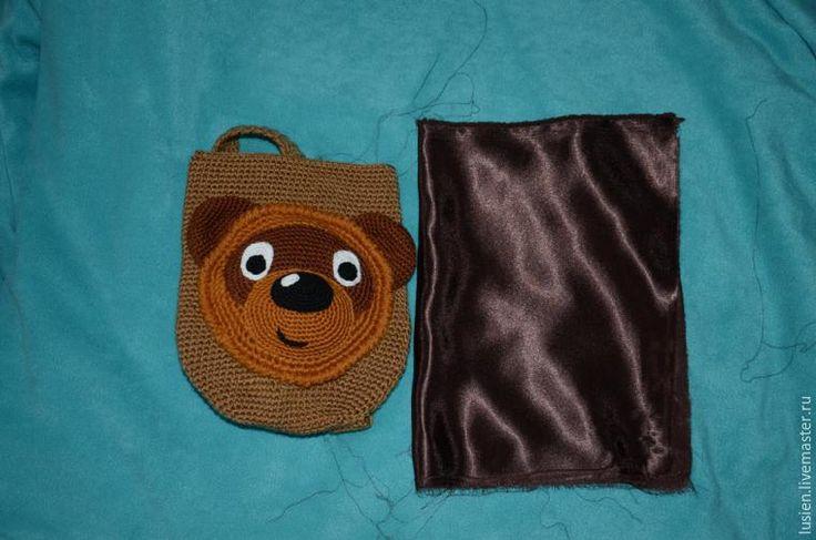 вязание детского рюкзака