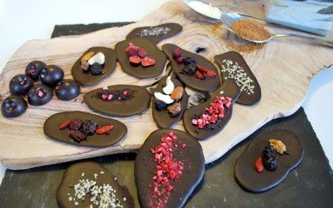 #Mælkefri #vegansk hjemmelavet chokolade-med-kakaosmør-og-kokossukker