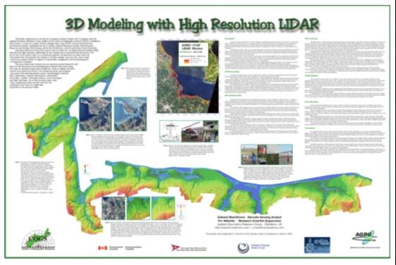 3D Modeling with High Resolution LIDAR - New Brunswick