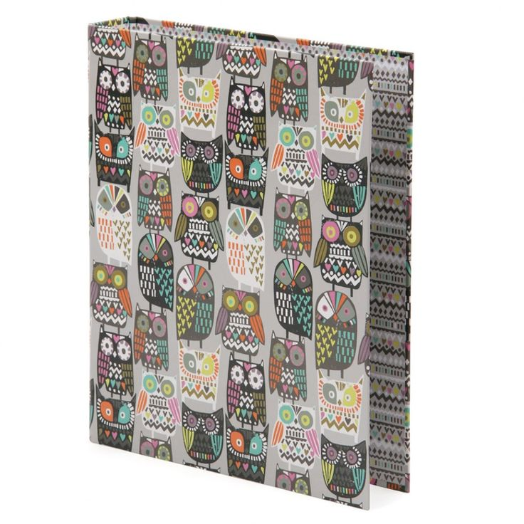owl office decor. owl crowd ring binder office decor i
