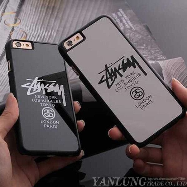 Stussy New York Paris Case  Hard Cover Iphone 5 5S 6 6 Plus