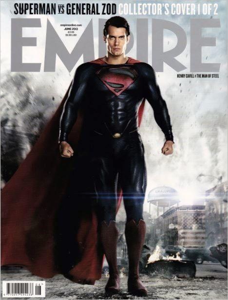 Empire Magazine Superman Collector cover #henrycavill #manofsteel