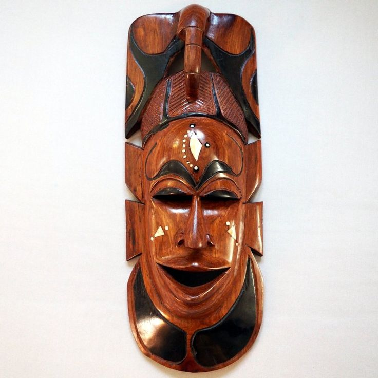 wood mask africa