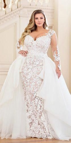 33 Plus-Size Wedding Dresses: A Jaw-Dropping Guide | Better this ...