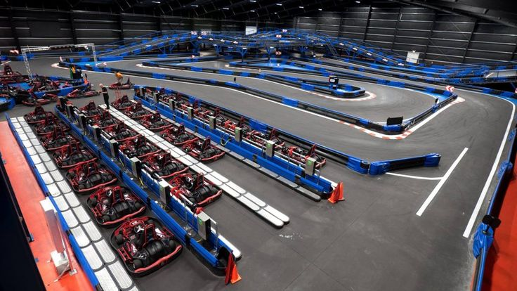 The Largest Indoor Go-Kart Track in the World is Hiding in Small-Town #Connecticut   We all love real-life Mario Kart, and go-kart racing is essentially just that. However, with the winter months rolling in, finding an indoor go-kart place isn't the easiest feat. But, as it turns out, in the small town of Montville, Connecticut lies the best of the best: Naskart Racing.
