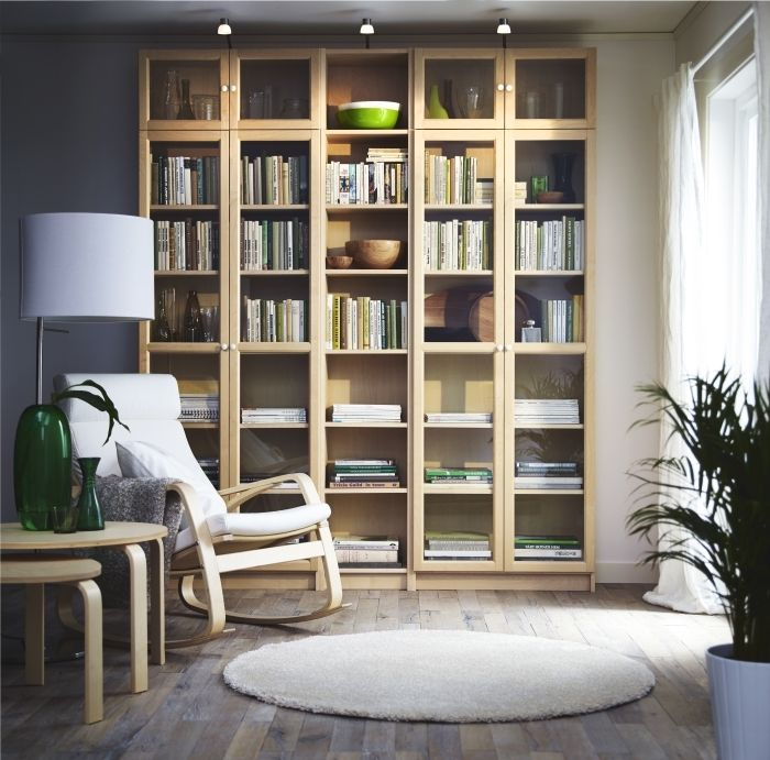 Billy S Adjustable Shelves Can Be Arranged According To Your Needs A Simple Unit Can Be