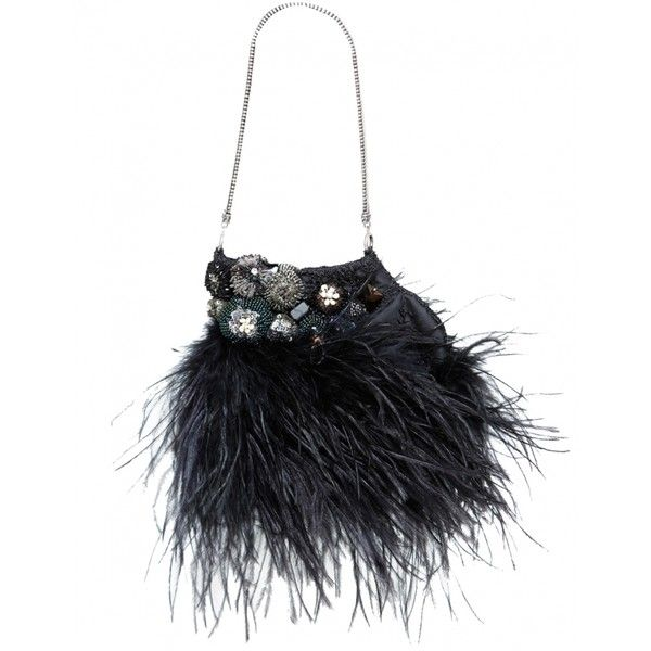 Feather Bagteria Bag ($290) ❤ liked on Polyvore