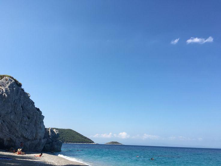 Chovolo beach at Skopelos island #lovegreece #skopelos #islands #hellas
