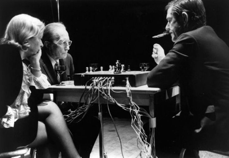 When is a chess game not a chess game? When it's played between Marcel Duchamp and John Cage.