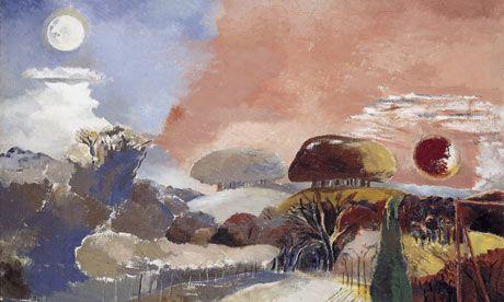 Landscape of the Vernal Equinox, Paul Nash