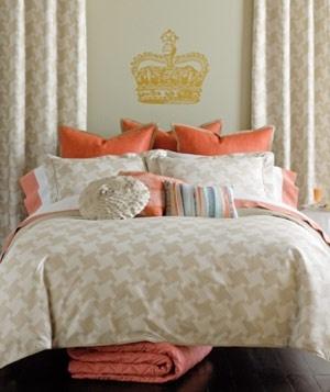 Dorm bedding?: Houndstooth, Duvet Sets, Color Combos, Queen,  Comforter, Duvet Covers,  Puff, Trafalgar Duvet, Bedrooms Decor Ideas