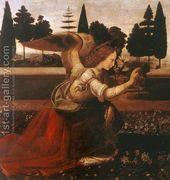 Annunciation (detail 1) 1472-75  by Leonardo Da Vinci