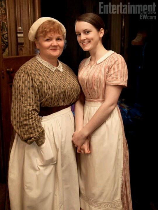 Downton Abbey (Mrs. Patmore & Miss Daisy)