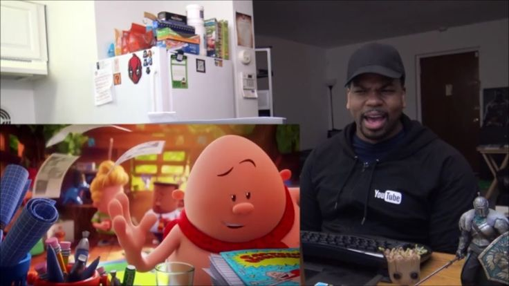 Captain Underpants: The First Epic Movie Trailer #1 - REACTION!!!