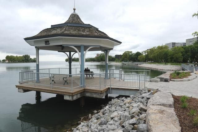 Gazebo at Mimico Waterfront Park