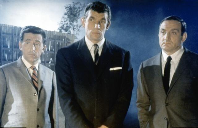 NE NOUS FACHONS PAS....autre film culte ! Lino Ventura, Jean Lefevre et Michel Constantin