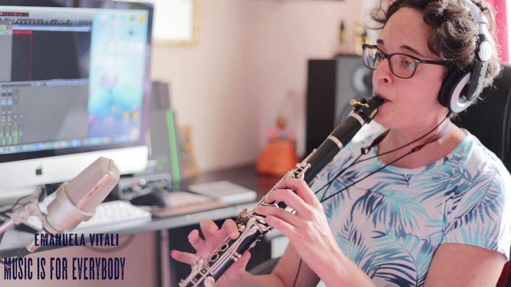 Autumn leaves, jazz clarinet