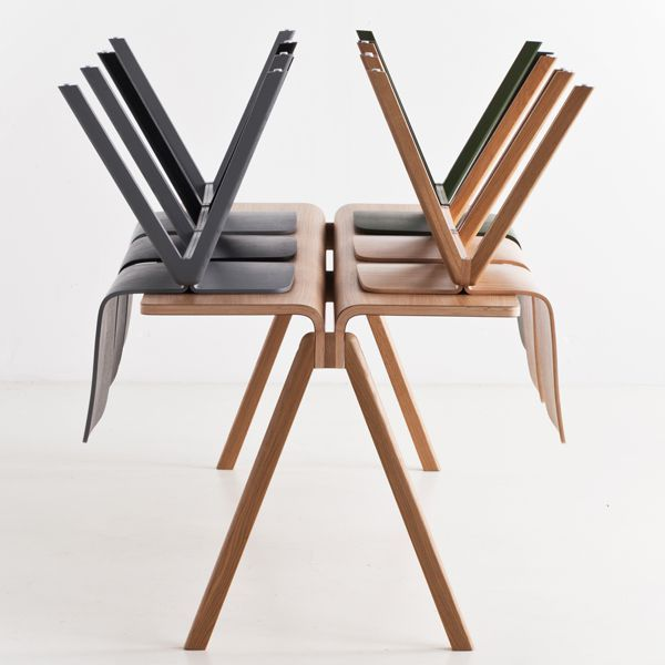 the copenhague chair by hay made in wood by ronan and erwan bouroullec la chaise copenhague. Black Bedroom Furniture Sets. Home Design Ideas